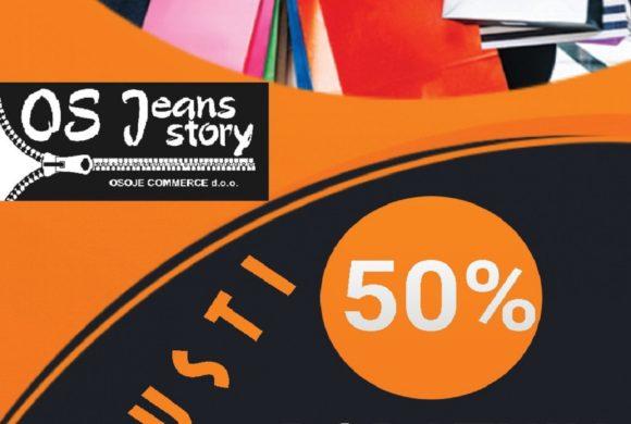 OS Jeans story – Akcija