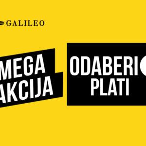 Galileo outlet- Akcija
