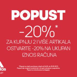 Adidas OUTLET – Akcija