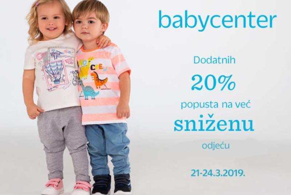 babycenter – Dodatni popust